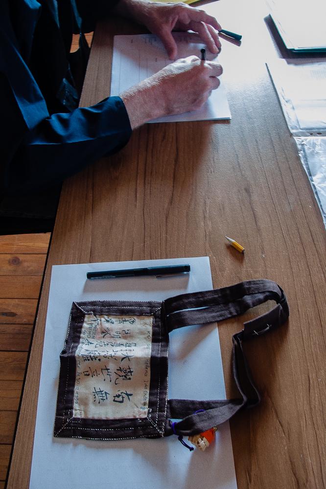 Kalligraphieren von Rakusus