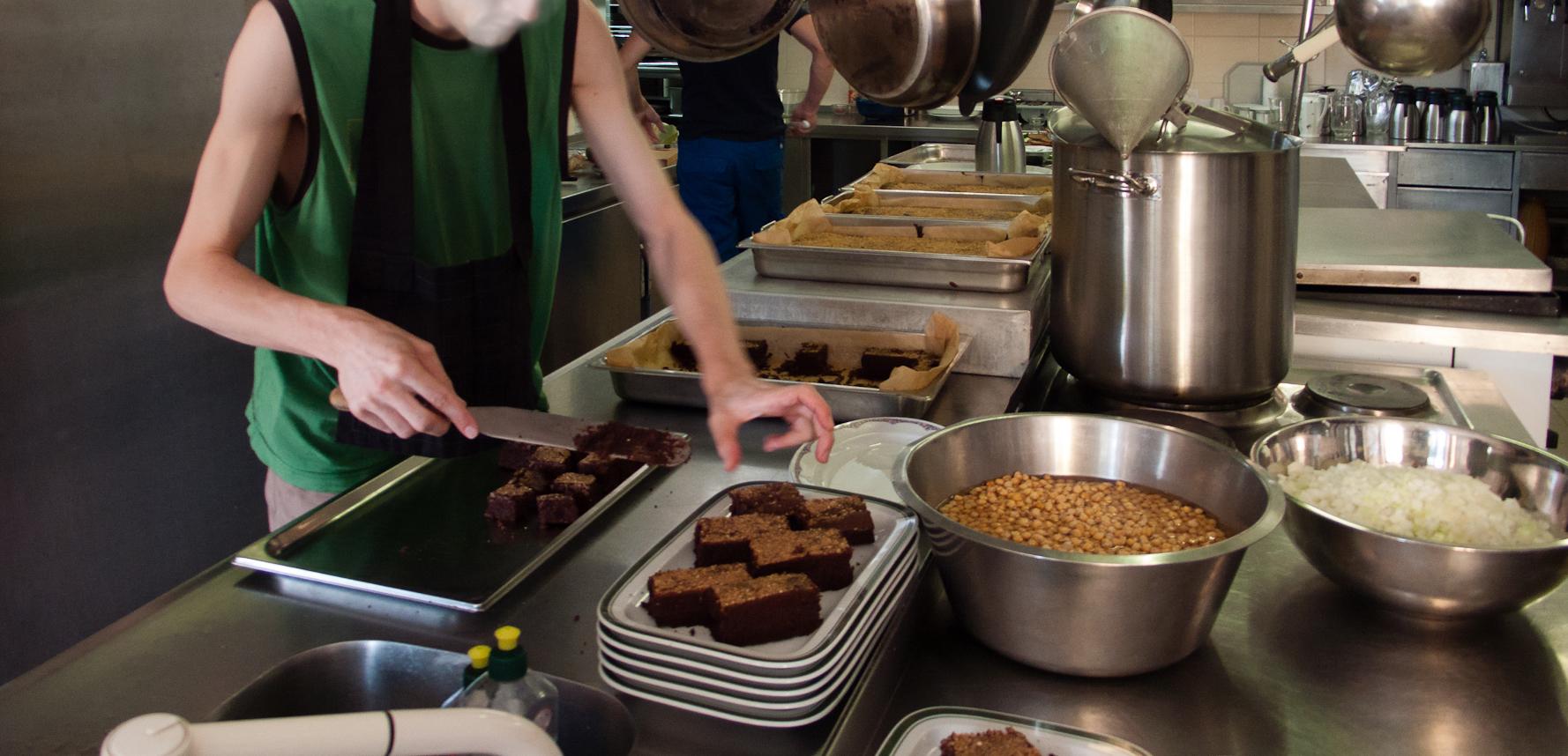 Organisation der Essenzubereitung