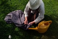 Näh- und Gartenarbeiten