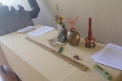 Utensilien der Zen-Praxis
