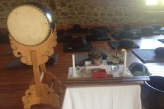 Altar und Trommel